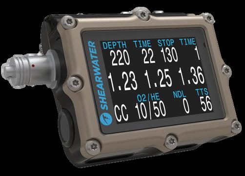 Shearwater Petrel 2 OC/CC EXT (External Monitoring)