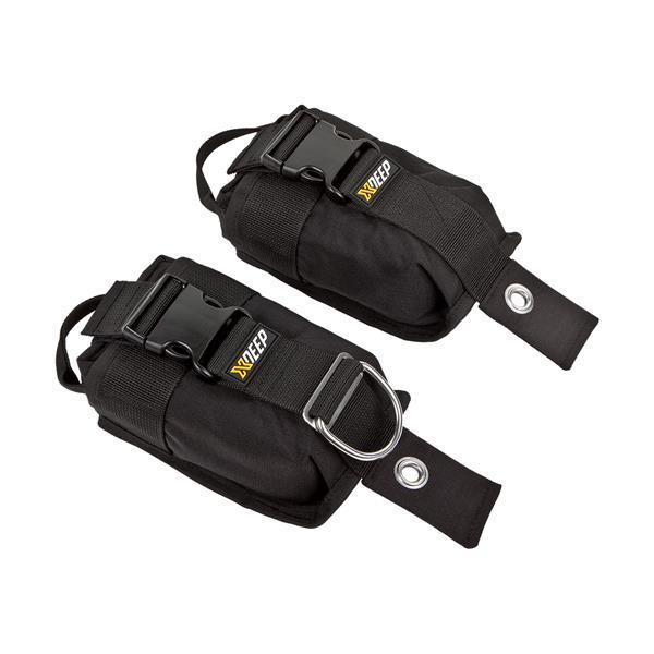 XDEEP Bleitaschen Größe L bis 2x6 kg, Paar