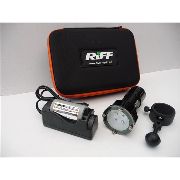 Riff Videoleuchte TL RL mit Rotlicht