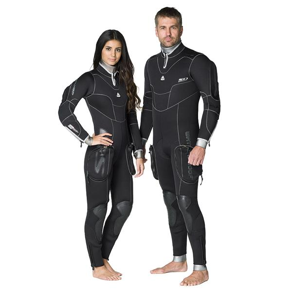 Waterproof SD Combat 7mm Semidry - Damen-Tauchanzug