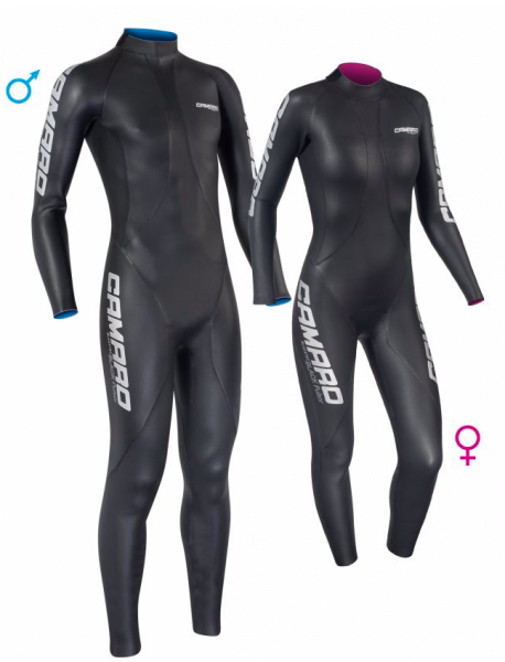 Camaro Triathlon-Wettkampfanzug Blackpulsor Pro - Men