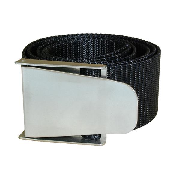 Polaris Bleigurt mit Inox Schnalle - Farbe Schwarz