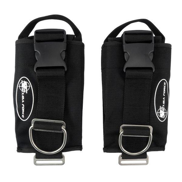 Scubaforce Weight Pocket System WP500 Black Devil (Paar)