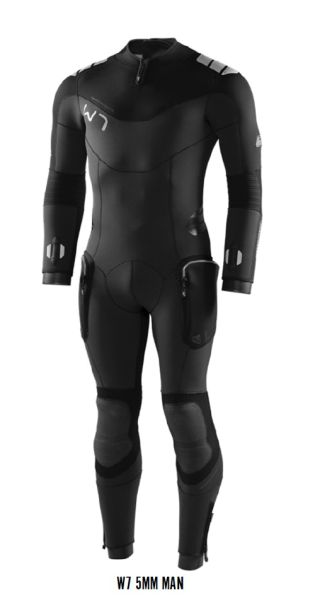 Waterproof W7 5MM FULLSUIT Herren