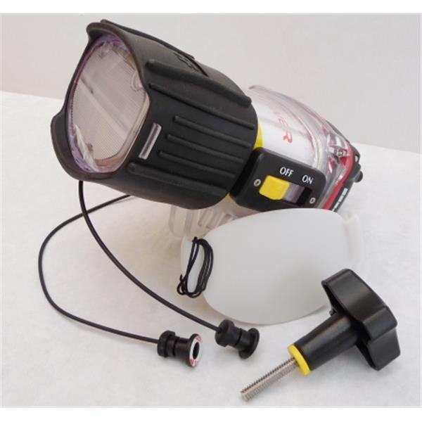Blitz Riff UWB-2 Leitzahl 20 und Lichtkabel und Diffusor