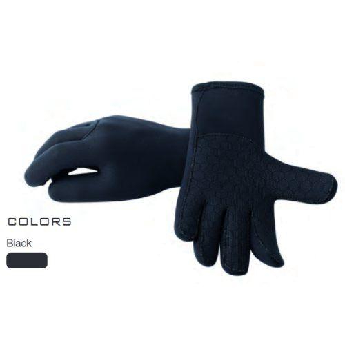 Poseidon Black Line 5 Finger Handschuhe 1.5mm