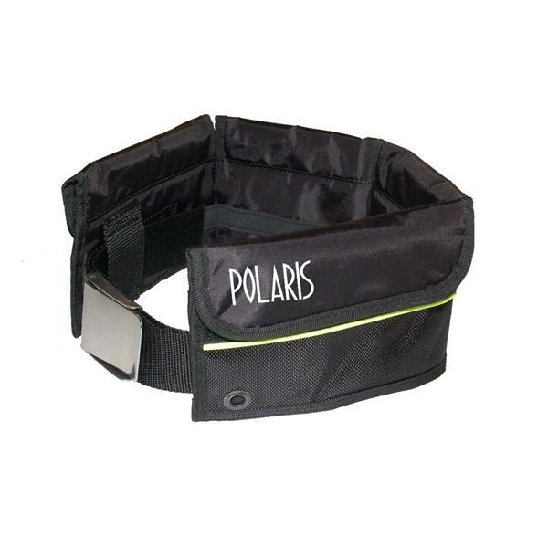 Polaris Softbleigurt Größe L mit 3 großen und 2 kleinen Taschen