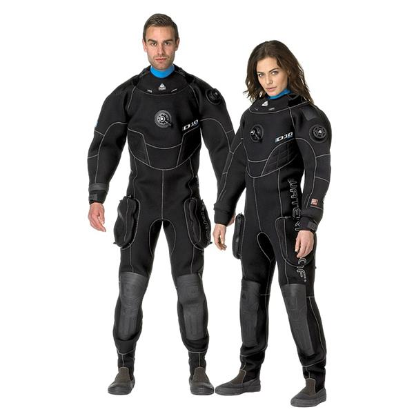 Waterproof Trockentauchanzug D10 Pro ISS - Neopren Herrenmodell