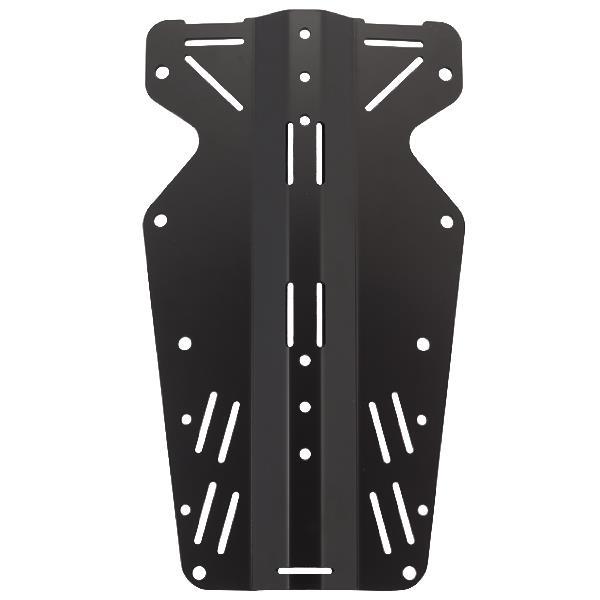 Scubaforce Black Devil Skeleton Backplate heavy + long (6mm / 5,6kg)