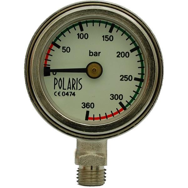 """Polaris TEK Finimeter """"Deep"""" mit 60cm Miflex Carbon HD Schlauch"""