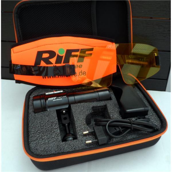 Riff TL Azur inklusive Gelblichtsperrfilter - leuchtkräftigste Blue Light Lampe