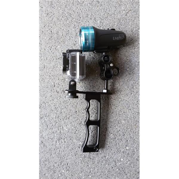 Riff Pistolengriff / Handgriff für Tauchlampe und für ActionCam