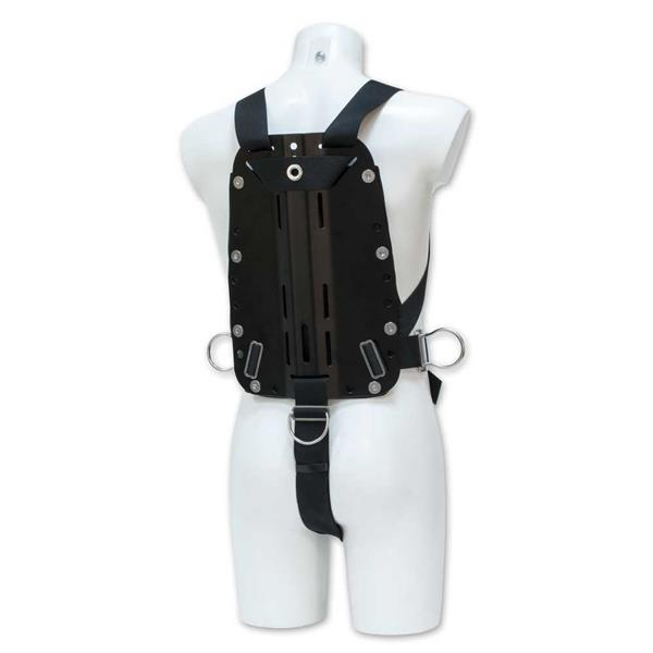 Poseidon Harness mit Backplate für RB Wing