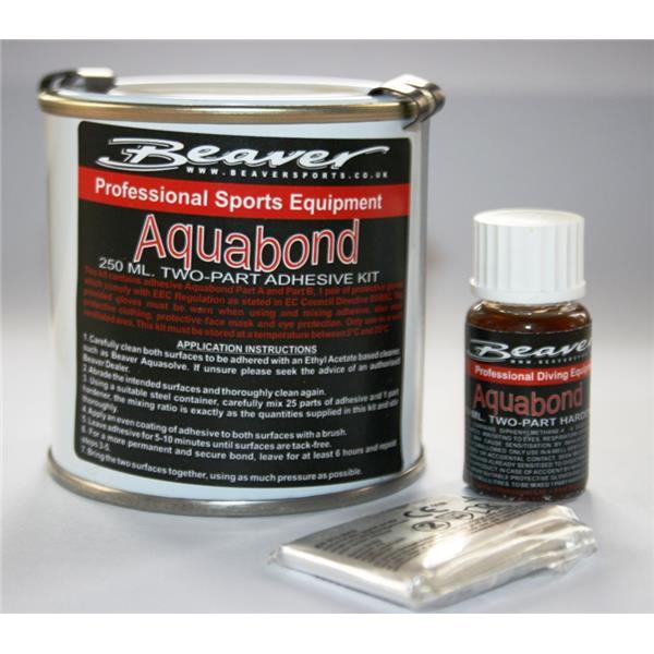 Aquabond Set 250ml + 10ml Härter - 2 Komponentenkleber
