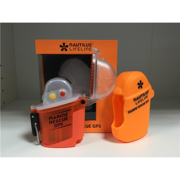 Nautilus Lifeline - Marine Rescue GPS Orange