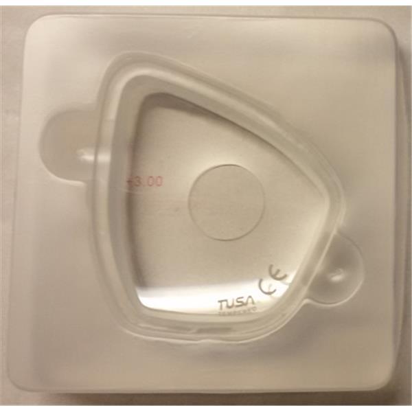 TUSA Optische Gläser für Tauchmaske M-212, M-28, M-40, TM-7500