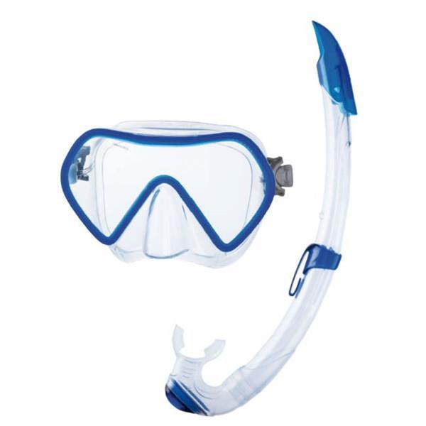 Seac Sub Schnorchelset Zenith - Maske und Schnorchel für Erwachsene