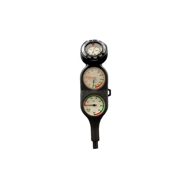 Polaris Top Line Dreierkonsole mit Kompas Pro und Tiefenmesser