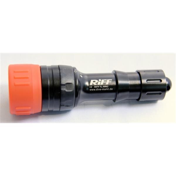 RIFF TL-WW2 - Weitwinkel Tauchlampe für Video- und Fotoeinsatz