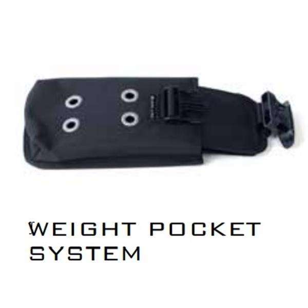 Poseidon Gewichtssystem - WEIGHT POCKET