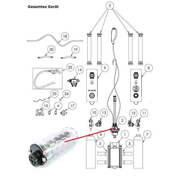 Poseidon Battery Module Rec 40