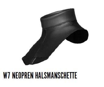 Waterproof W7 NEOPREN HALSMANSCHETTE 2,5MM