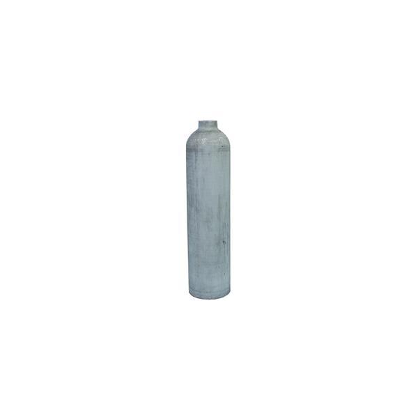 MES Aluminium 3L 200 bar natur ohne Ventil