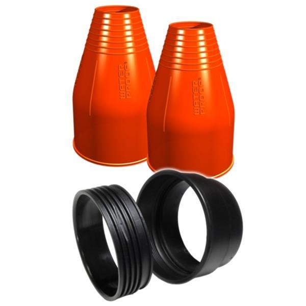 Waterproof Silikon Quick Seal Kit / Armmanschetten Montage-Kit rund