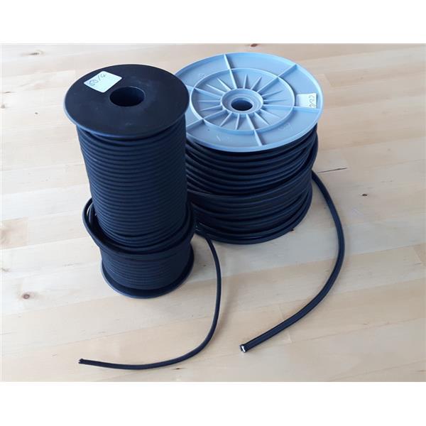 Bungee Gummiseil 6mm stark - Meterware