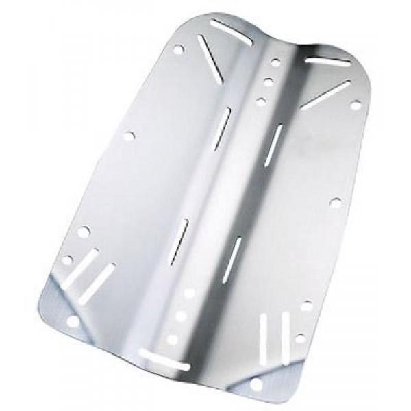 Polaris Edelstahl Backplate 3mm, ca. 2,5kg