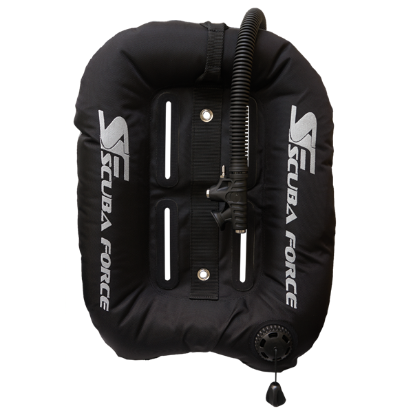 Scubaforce Black Devil Wing 32 lbs (Single Tank) - GRAU