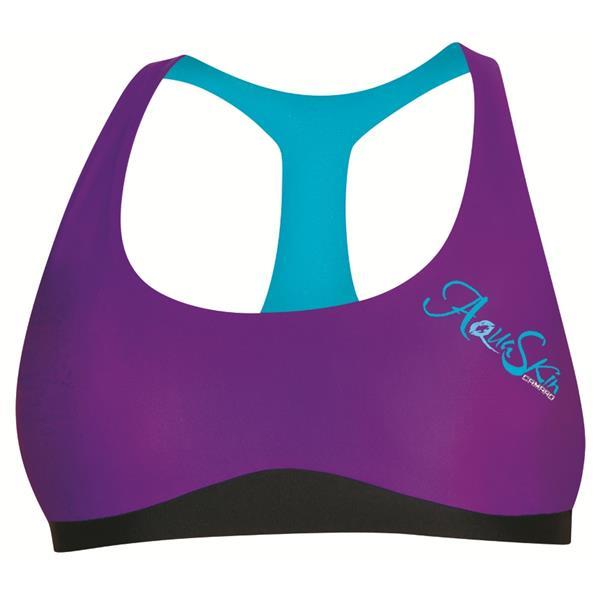 Camaro Aquaskin Bikini Top lila