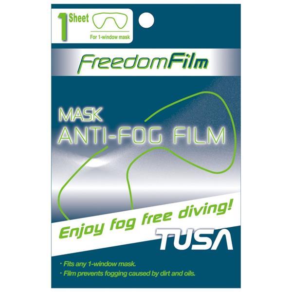 Tusa TA-0801 Freedom Film - Anti-Beschlag / Anti-Beschlagfolie für 1 Glasmasken